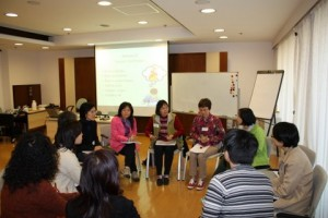 Training intervenors in China.